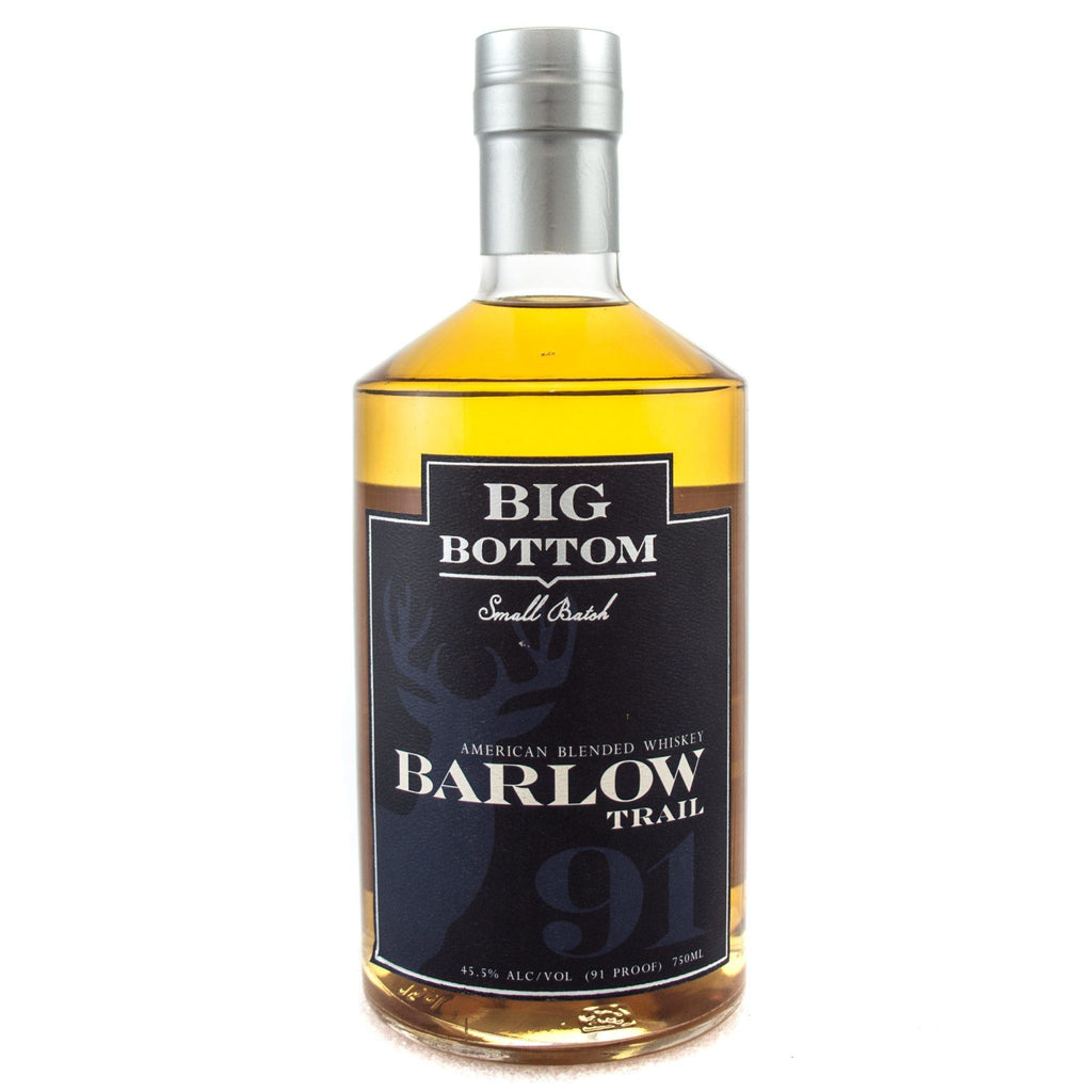 Big Bottom Barlow Trail American Whiskey Big Bottom Distilling