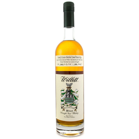 Willett Family Estate Bottled Single-Barrel 3 Year Old Straight Rye Whiskey