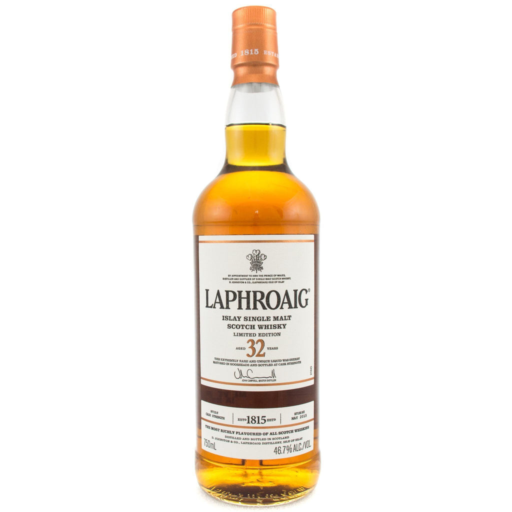 Laphroaig 32 Year Old Scotch Laphroaig