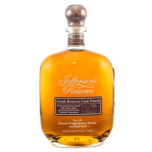 Jefferson's Groth Cask Finish Bourbon Jefferson's