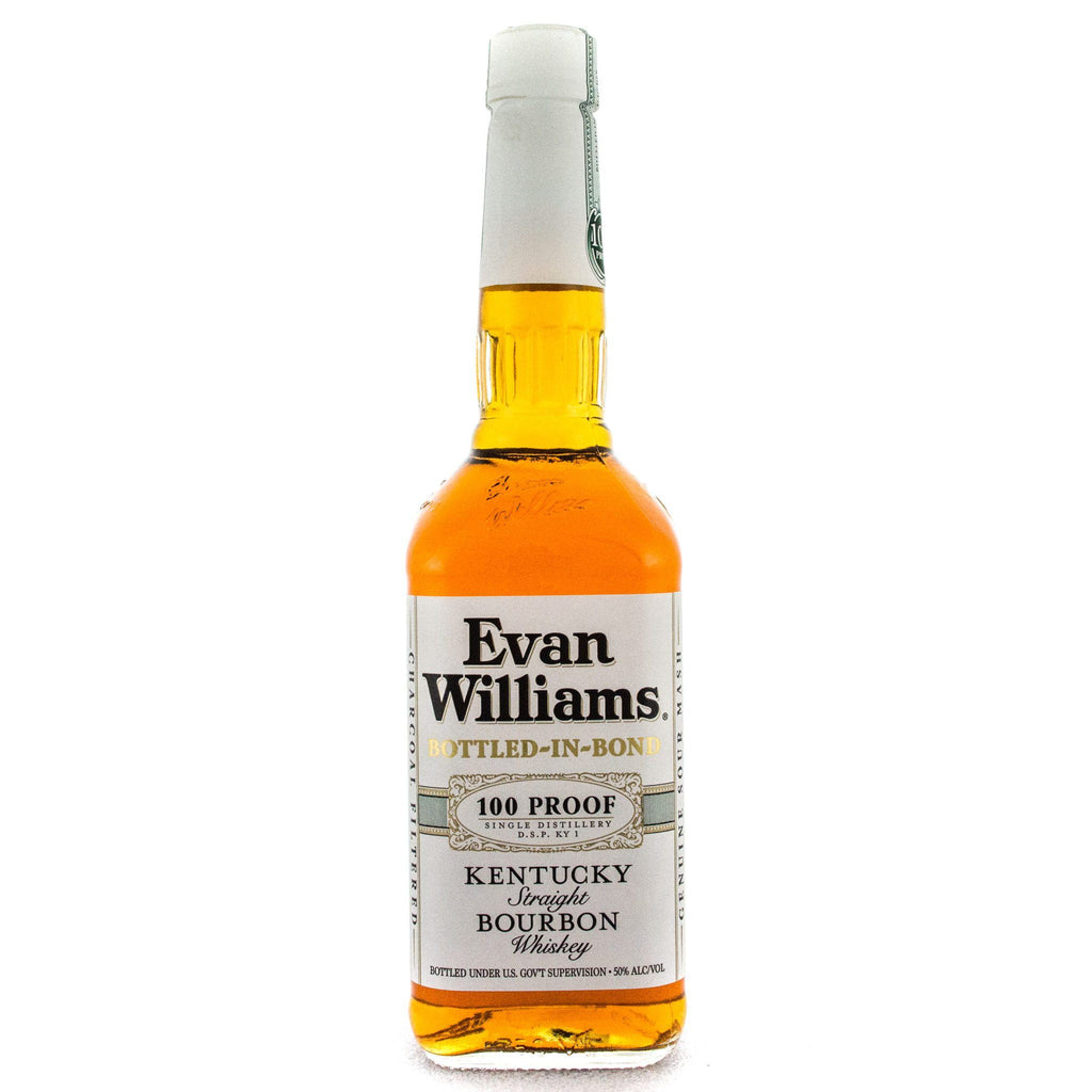 Evan Williams Bottled In Bond Bourbon Evan Williams