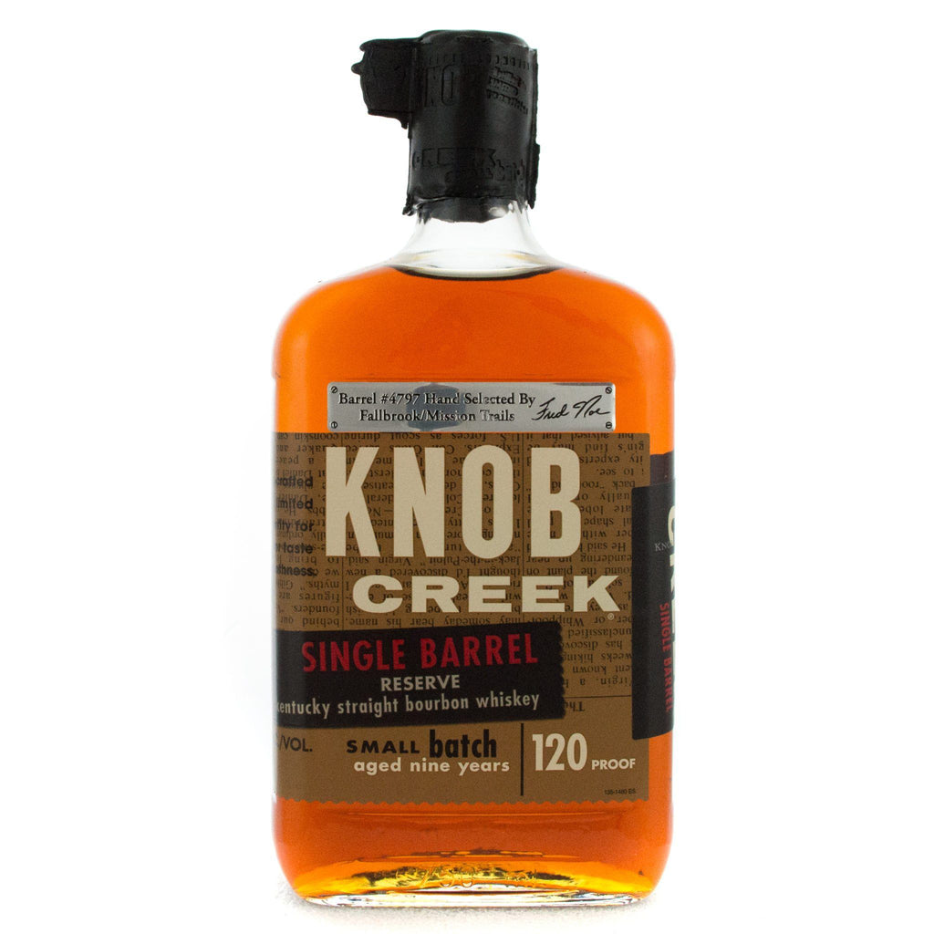Knob Creek Single Barrel Reserve Bourbon Knob Creek