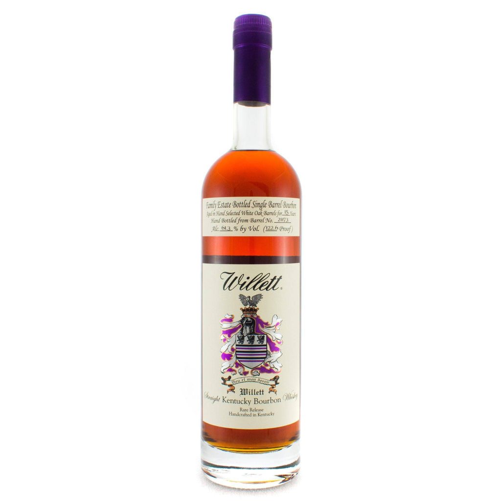Willett Family Estate Bottled Bourbon 15 Years Old Barrel No. 2073 Bourbon Willett Distillery