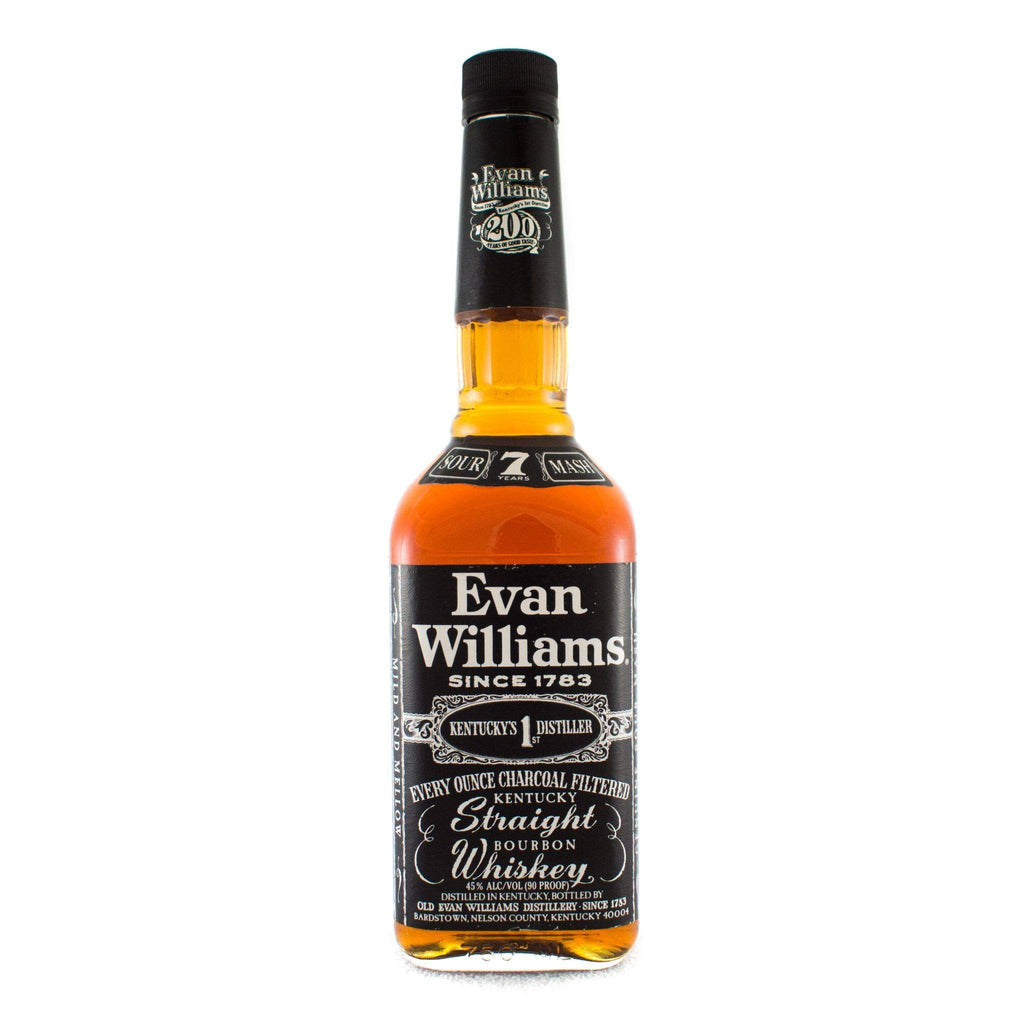 Evan Williams 7 Year 1996 Edition Bourbon Evan Williams