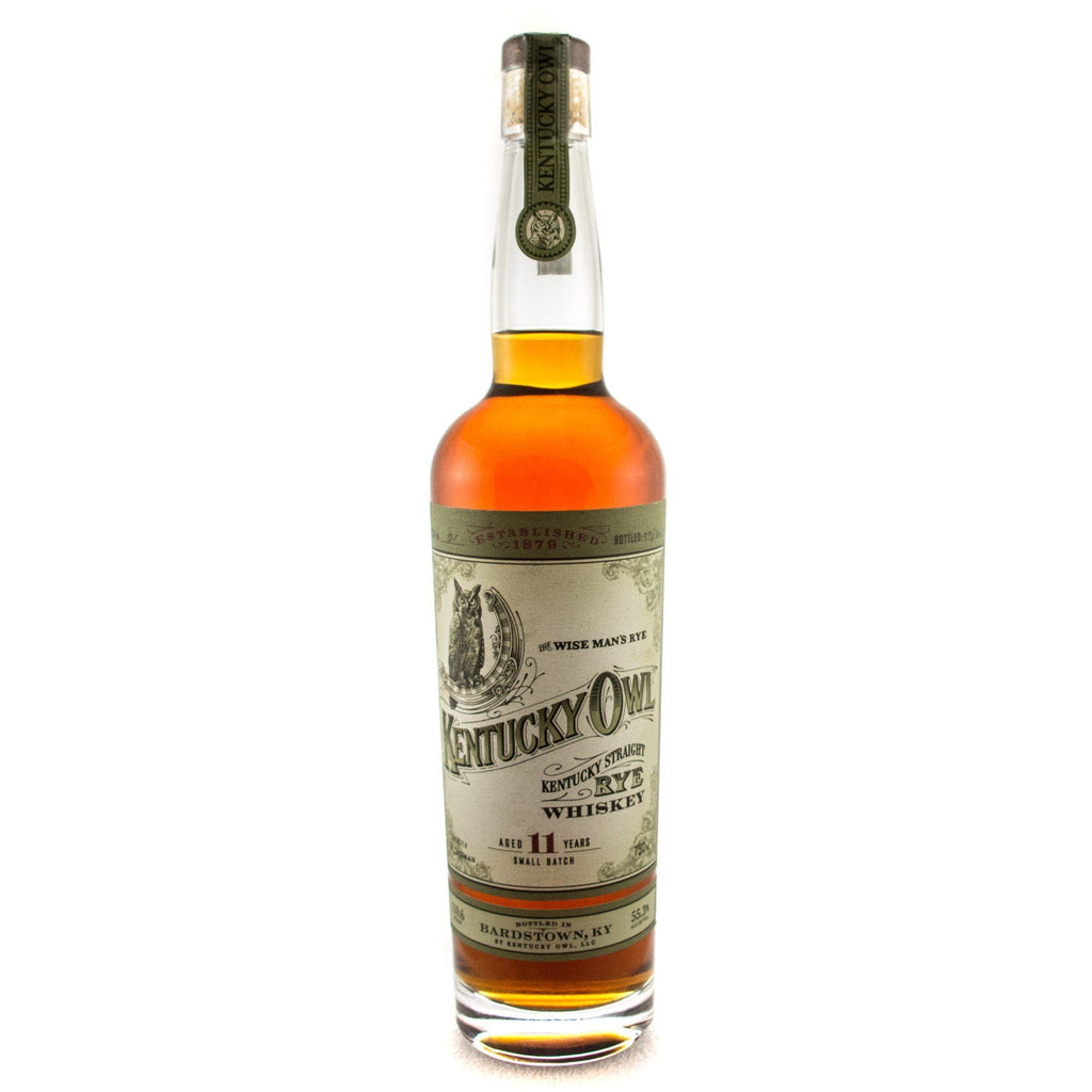 Kentucky Owl 11 Year Kentucky Straight Rye Whiskey Rye Whiskey Kentucky Owl