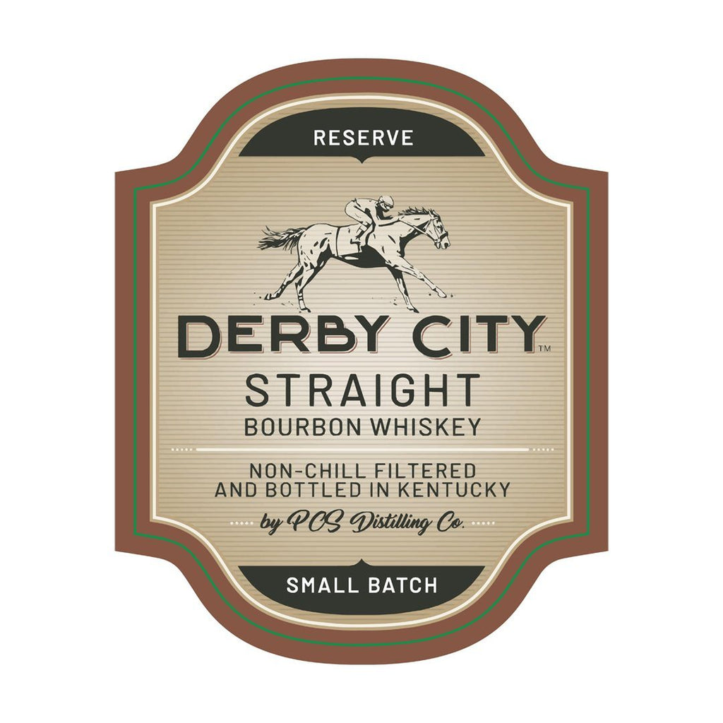 Derby City Small Batch Bourbon Staight Bourbon Whiskey Derby City