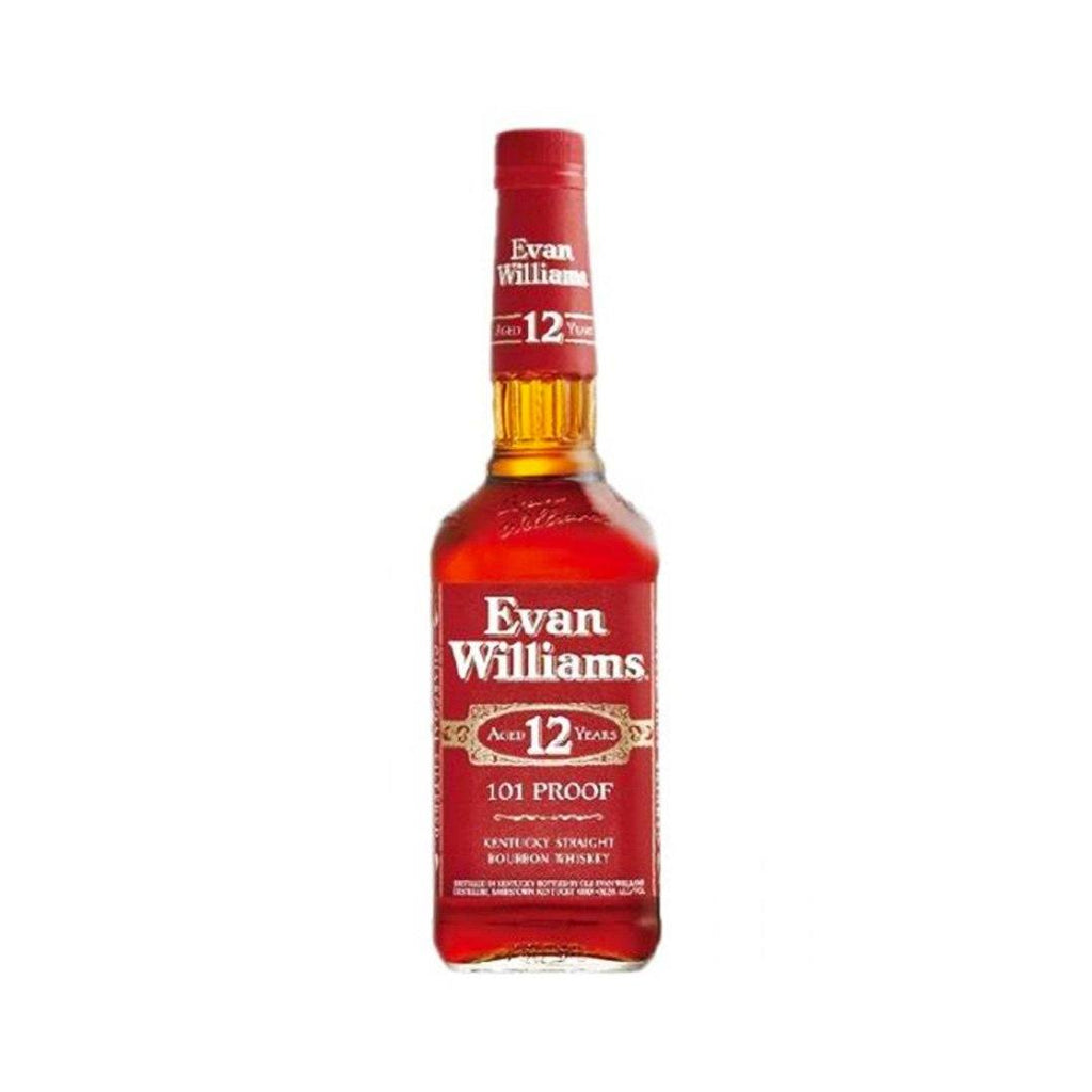 Evan Williams 12 Year Red Label Kentucky Straight Bourbon Whiskey Evan Williams