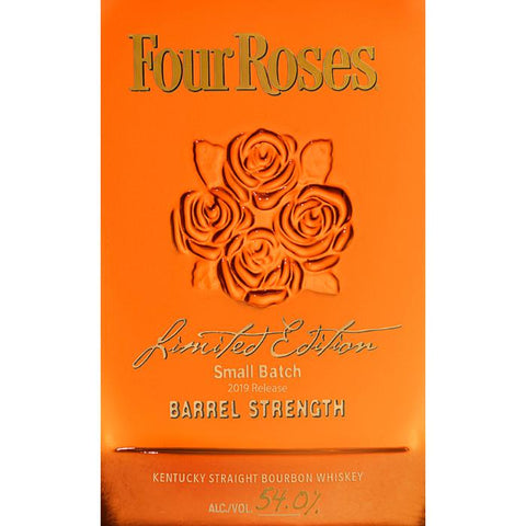 Four Roses Limited Edition Small Batch Barrel Strength 2019
