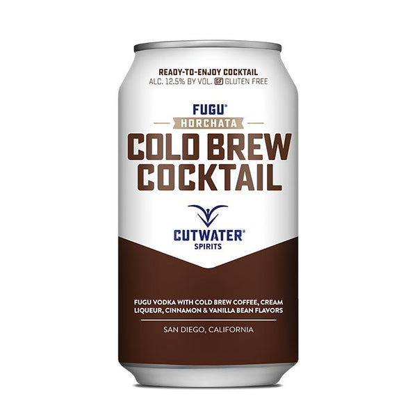 Fugu Horchata Cold Brew (4 Pack - 12 Ounce Cans) Canned Cocktails Cutwater Spirits