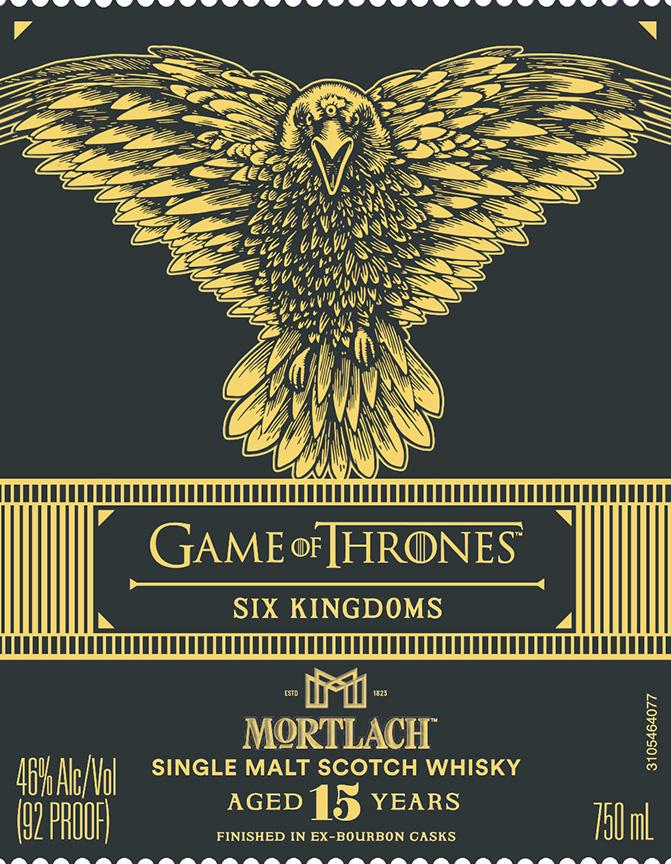 Game Of Thrones Six Kingdoms Mortlach 15 Year Old Scotch Mortlach Distillery