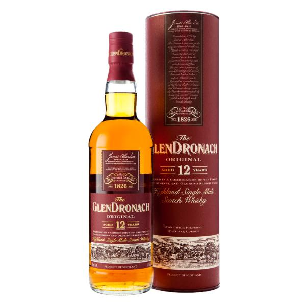 Glendronach 12 Year Old Scotch Glendronach