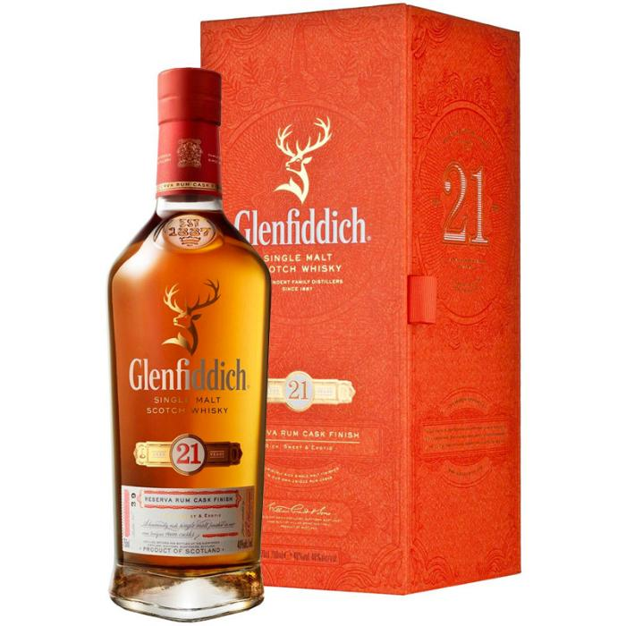 Glenfiddich 21 Year Old Scotch Glenfiddich
