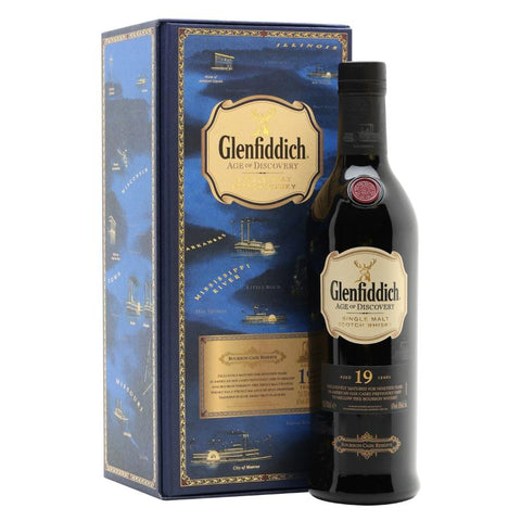 Glenfiddich Age Of Discovery Bourbon Cask 19 Year Old