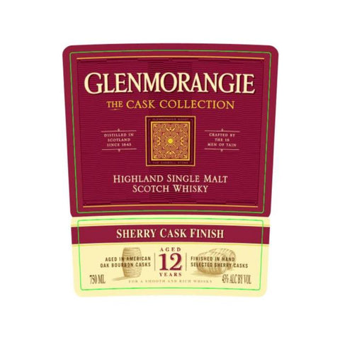 Glenmorangie The Cask Collection 12 Year Old Sherry Cask Finish