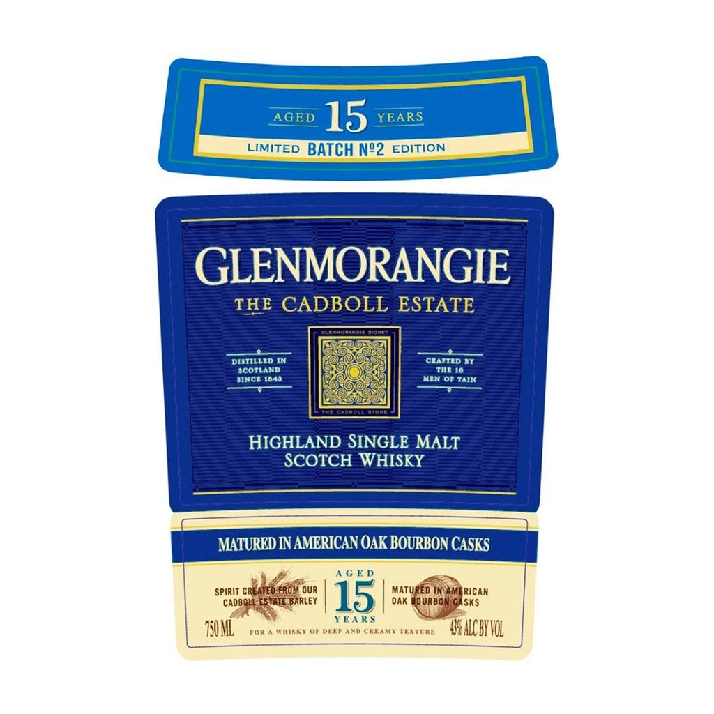 Glenmorangie The Cadboll Estate Batch No. 2 Single Malt Scotch Whiskey Glenmorangie