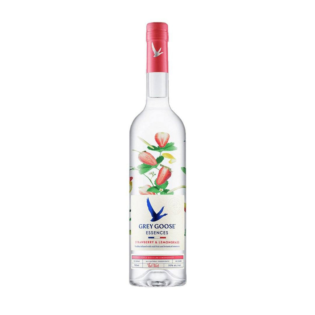 Grey Goose Strawberry and LemonGrass Flavoured Vodka Grey Goose Vodka