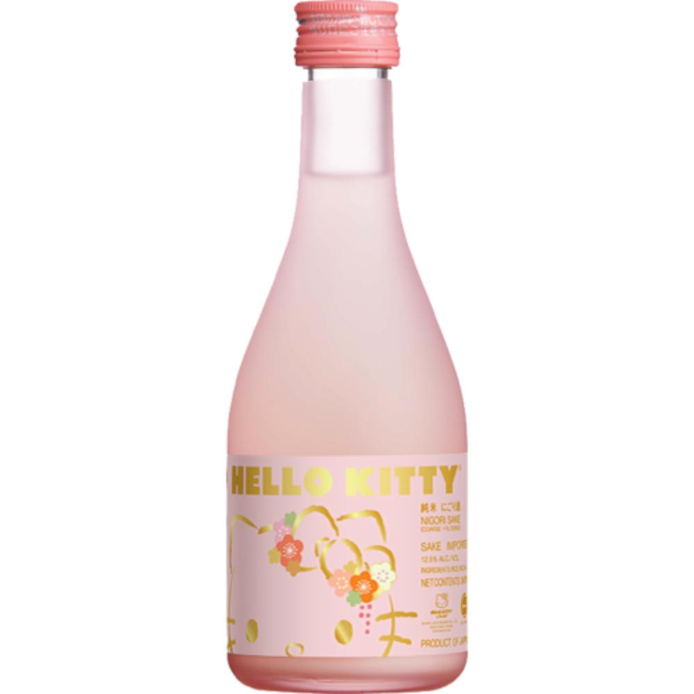Hello Kitty Nigori Sake Sake Hello Kitty Wines