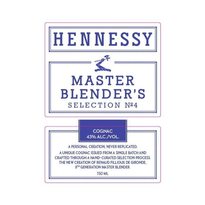 Hennessy Master Blender's Selection No. 4 Cognac Hennessy