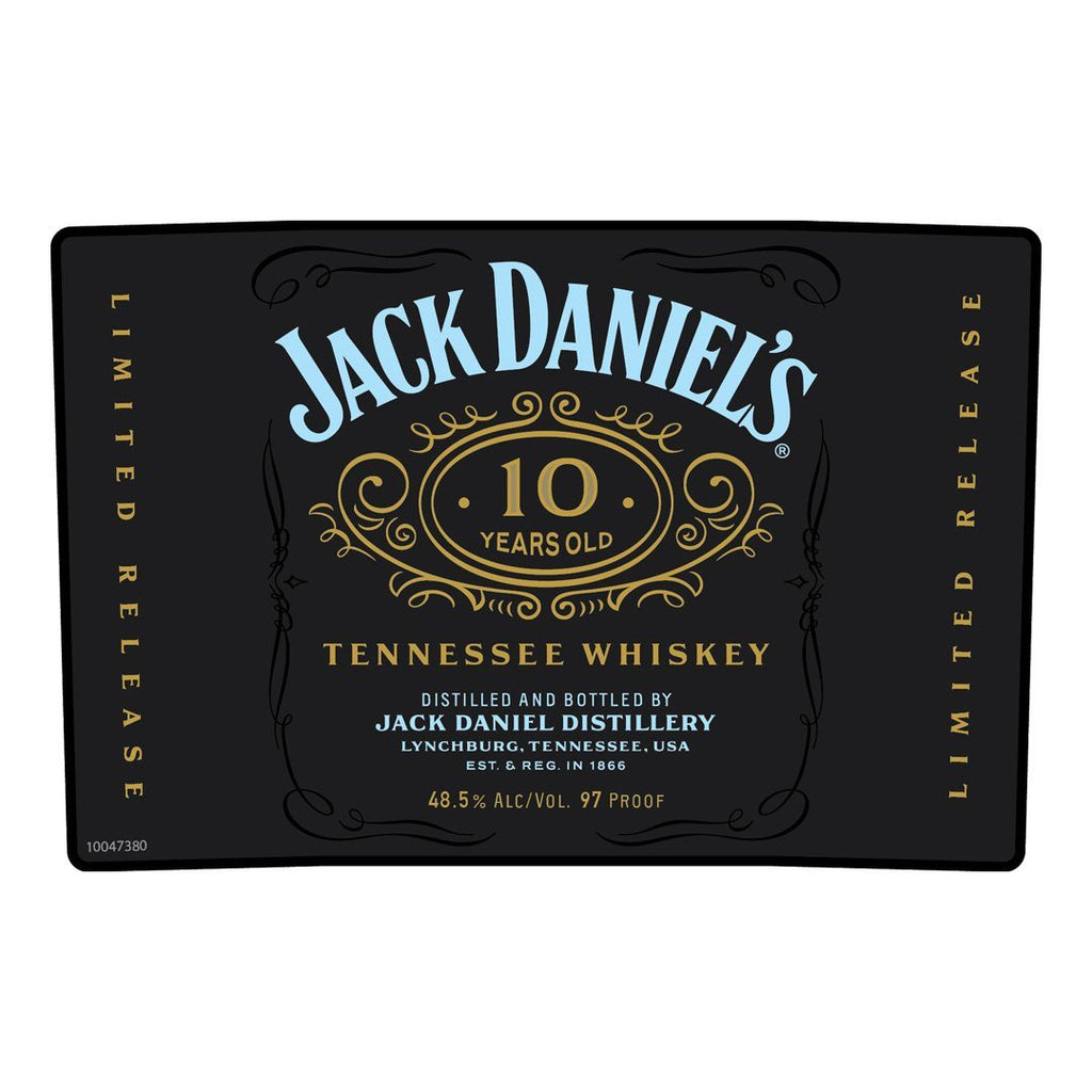 Jack Daniel's 10 Year Old Tennessee Whiskey Tennessee Whiskey Jack Daniel's