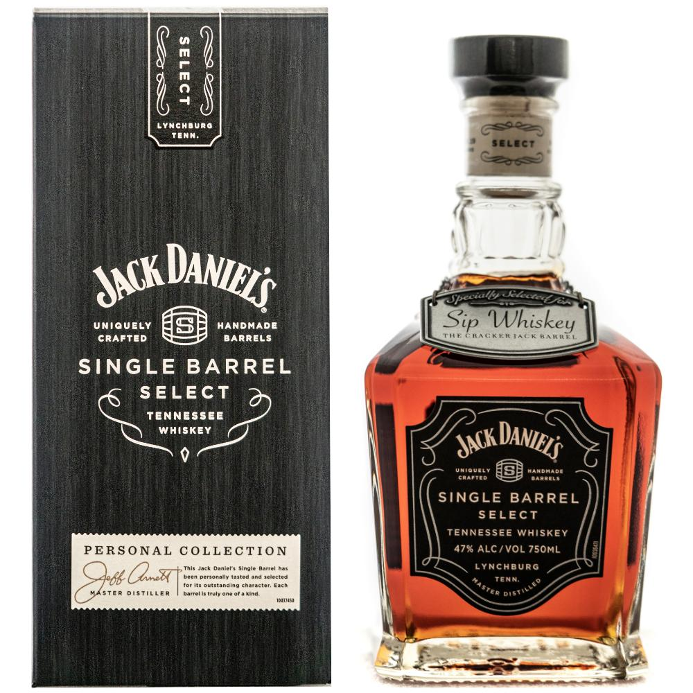 "Jack Daniel's Single Barrel Select ""The Cracker Jack Barrel"" American Whiskey Jack Daniel's"