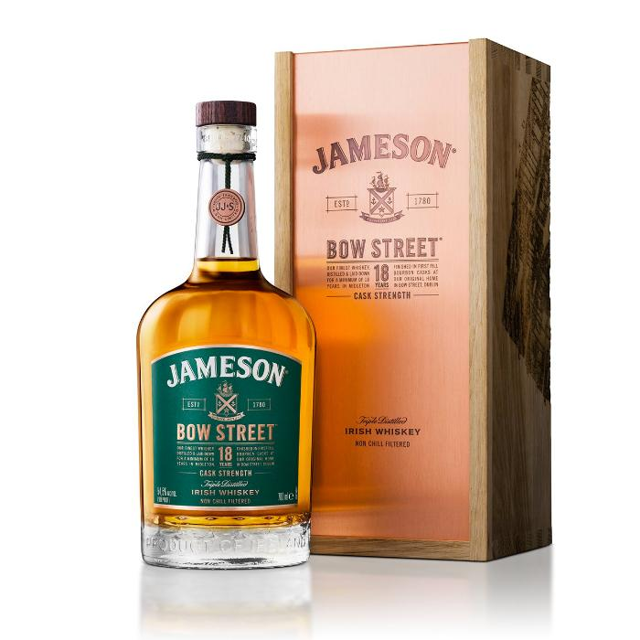 Jameson Bow Street 18 Years Irish whiskey Jameson