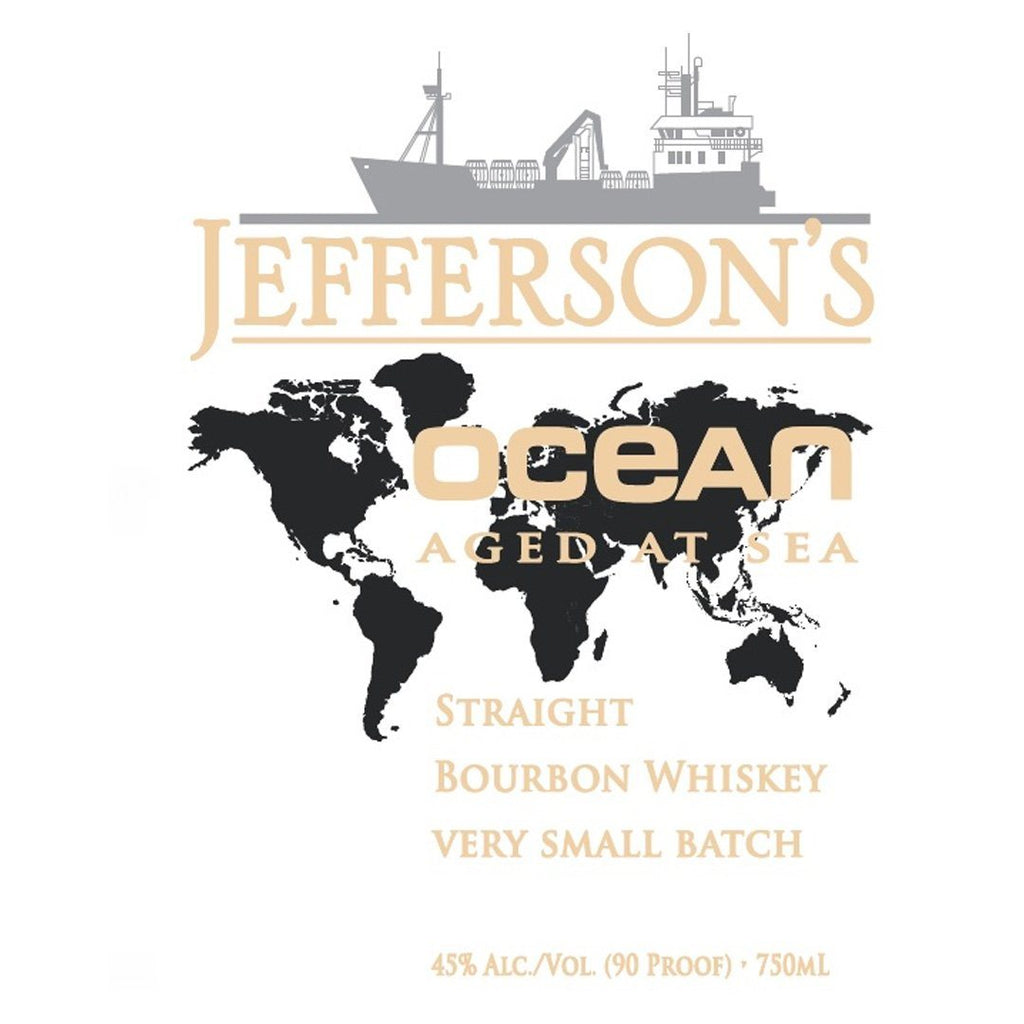 Jeffersons Ocean Aged at Sea Voyage 22 Straight Bourbon Whiskey Jefferson's