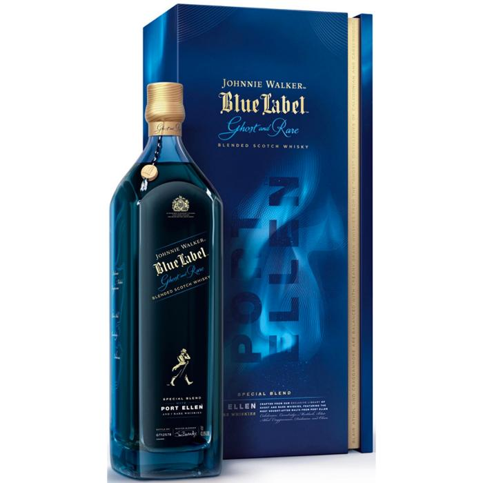 Johnnie Walker Blue Label Ghost and Rare Port Ellen Scotch Johnnie Walker