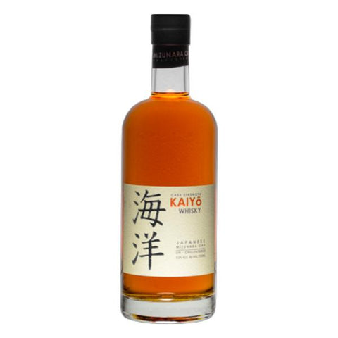 Kaiyō Cask Strength Japanese Mizunara Oak Whisky