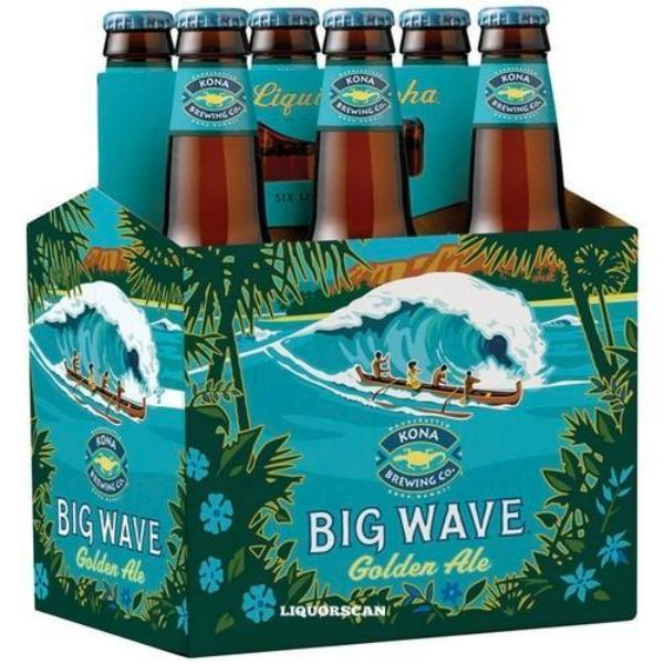 Kona Big Wave Golden Ale Beer Kona Brewing Company