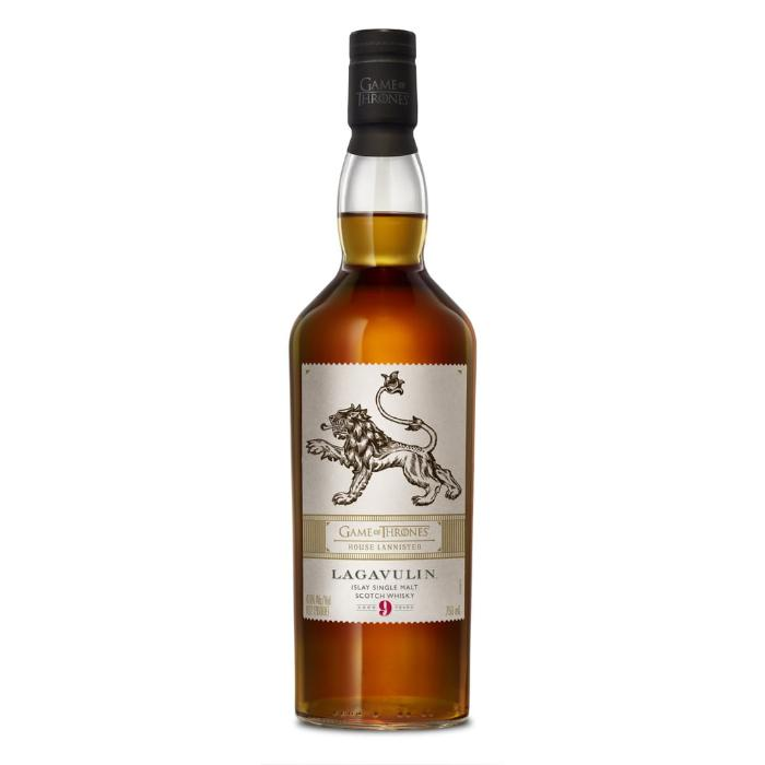 Lagavulin 9 year old - Game Of Thrones House Lannister Scotch Lagavulin