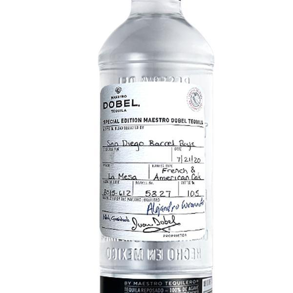 Maestro Dobel Diamanté 'San Diego Barrel Boys' Barrel Select Tequila Sip Whiskey