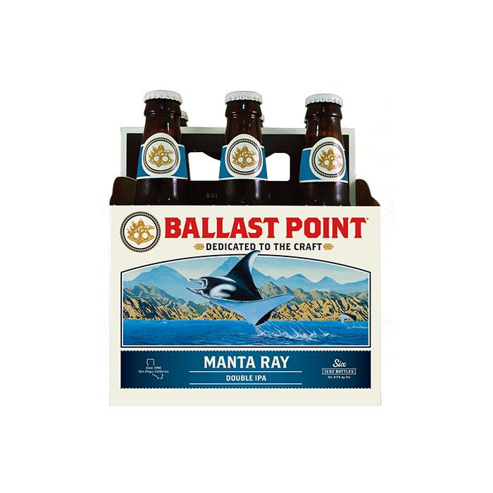 Ballast Point Manta Ray Double IPA Beer Ballast Point