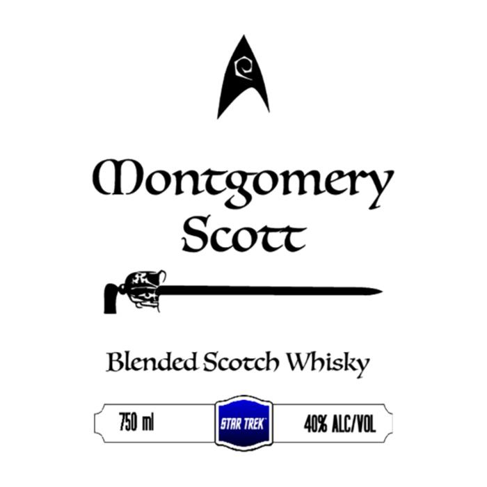 Montgomery Scott Blended Scotch Whisky Scotch Montgomery Scott