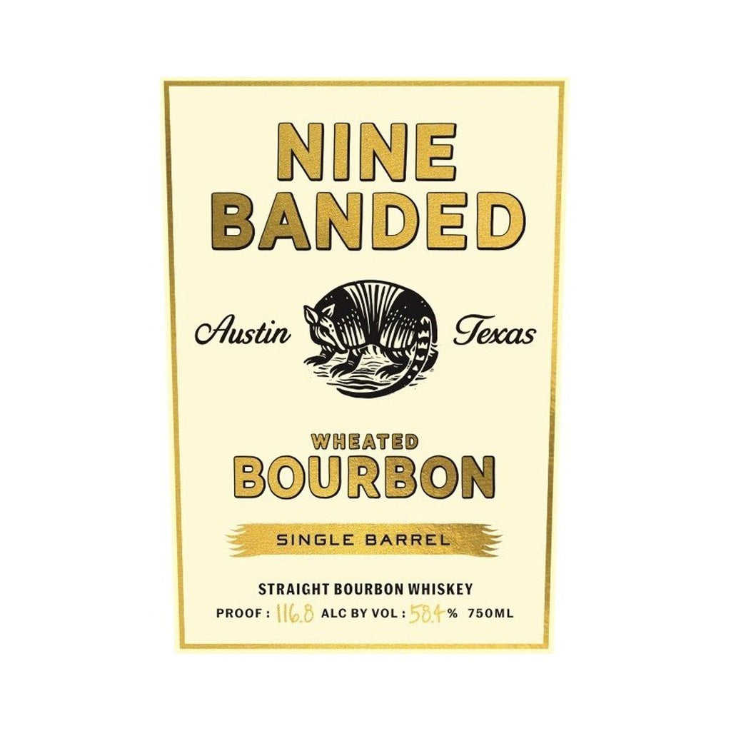 Nine Banded Single Barrel Wheated Bourbon Straight Bourbon Whiskey Nine Banded Whiskey