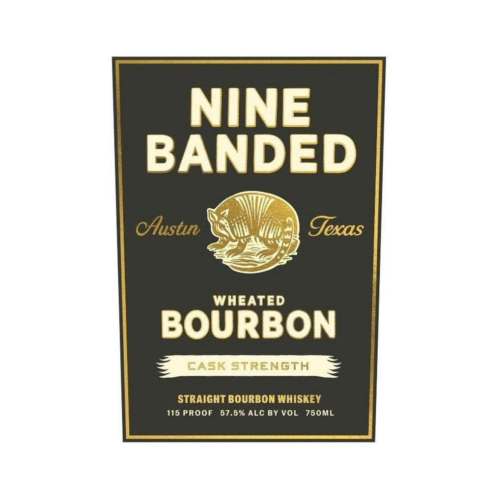 Nine Banded Wheated Bourbon Cask Strength Straight Bourbon Whiskey Nine Banded Whiskey