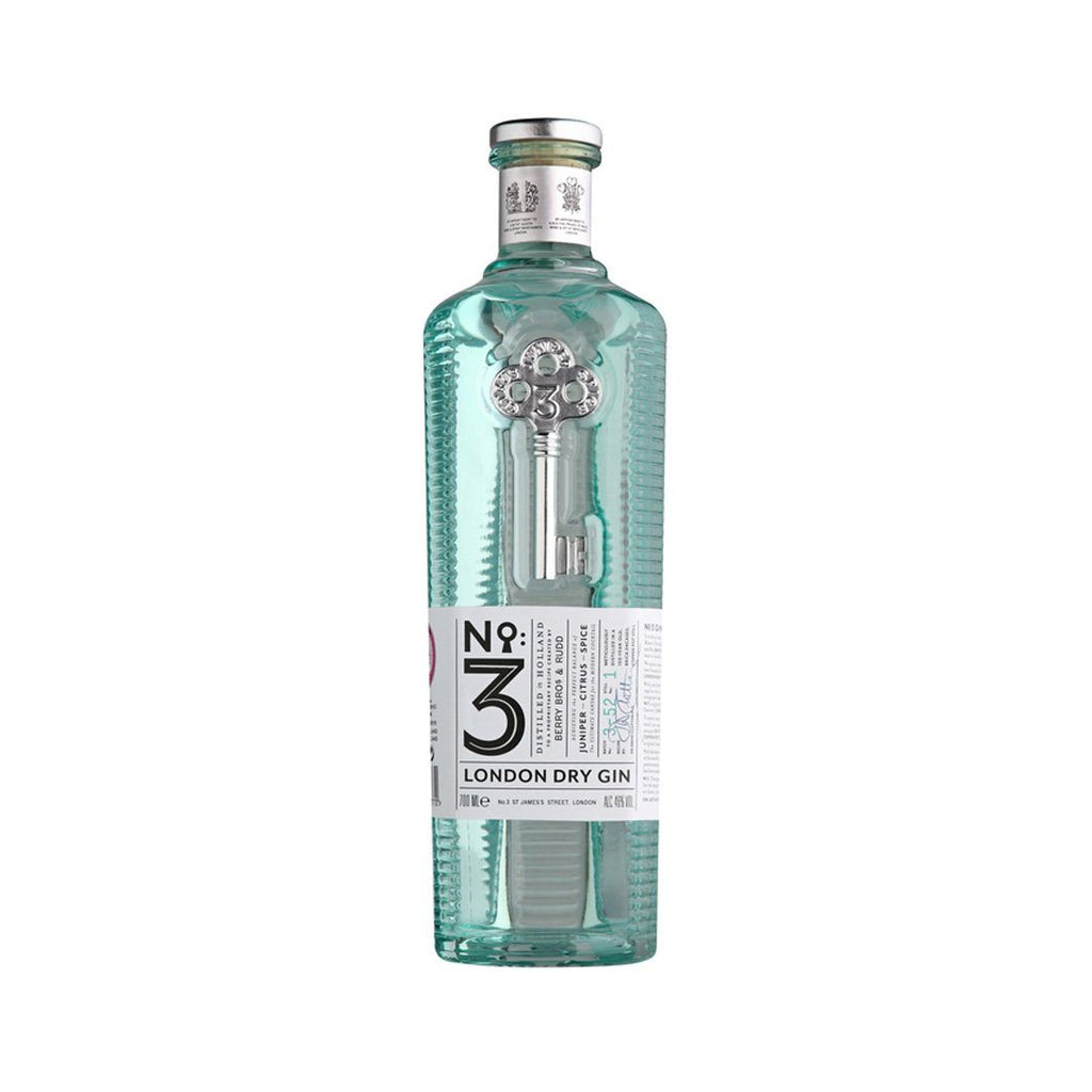 No. 3 London Dry Gin Gin Berry Brothers and Rudd
