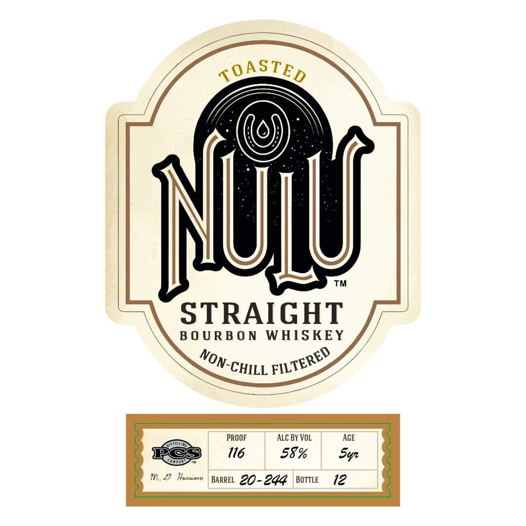 Nulu Toasted Single Barrel Bourbon Straight Bourbon Whiskey Nulu