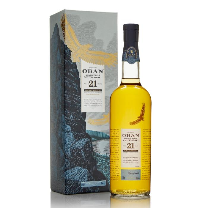 Oban 21 Year Old 2018 Release Scotch Oban