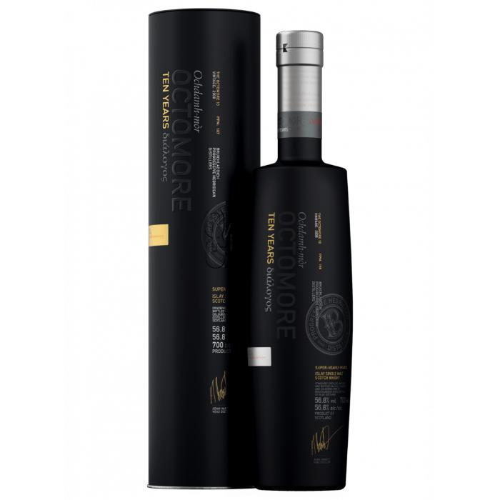 Octomore 10 Year Old Third Edition Scotch Octomore