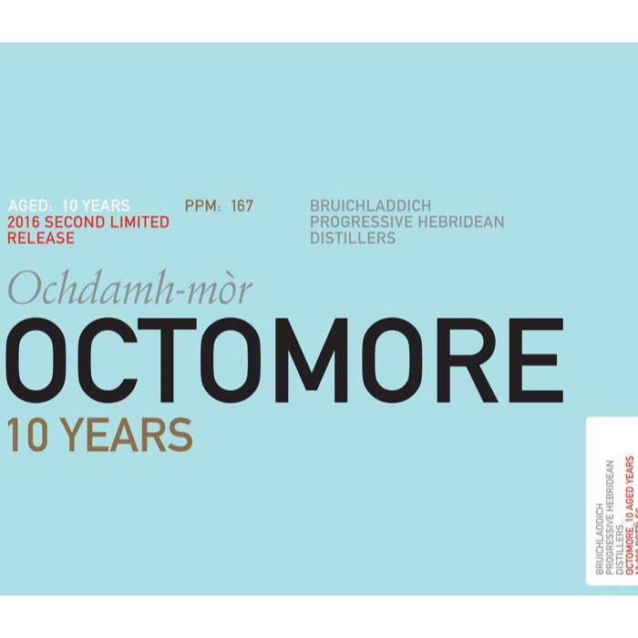 Octomore 10 Years 2016 Second Limited Release Scotch Octomore