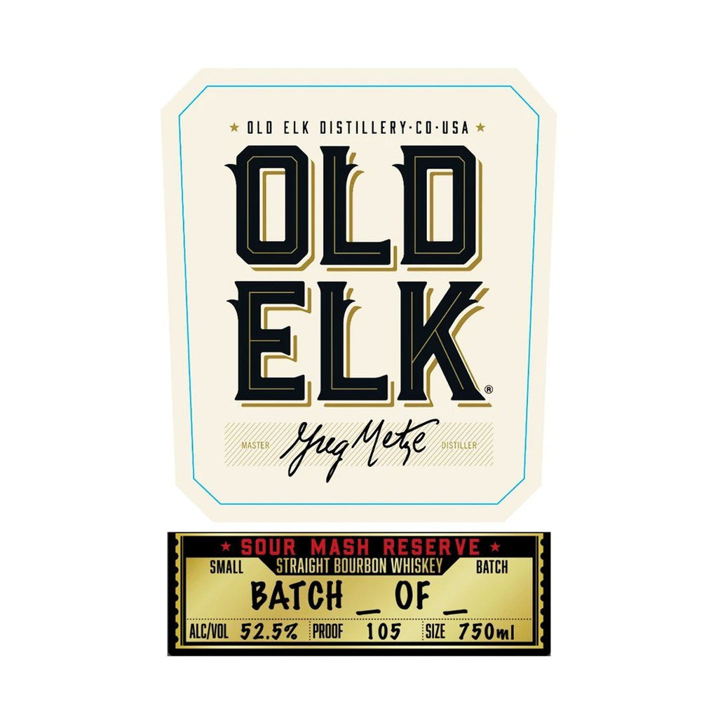 Old Elk Sour Mash Reserve Straight Bourbon Whiskey Old Elk Bourbon