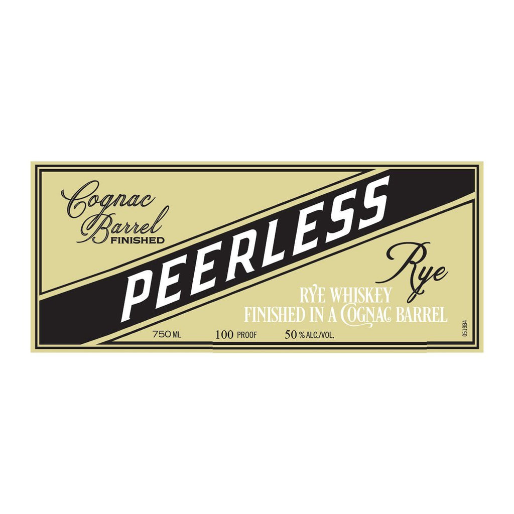 Peerless Rye Finished In A Cognac Barrel Rye Whiskey Peerless