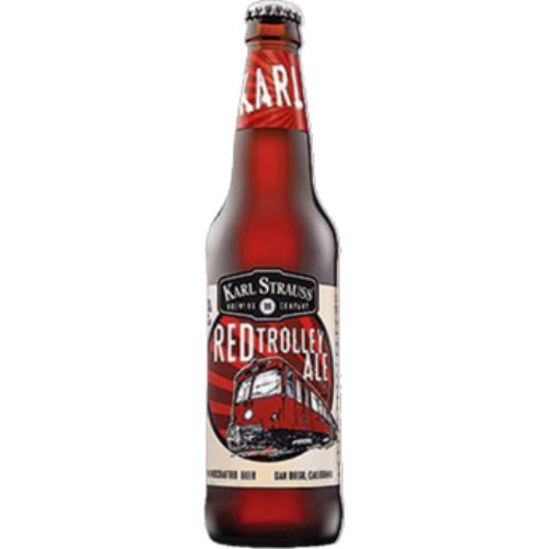Karl Strauss Red Trolley Ale Beer Karl Strauss