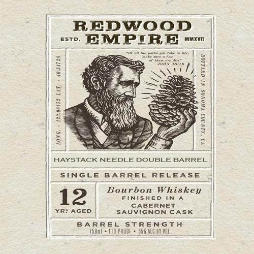 Redwood Empire 12 Year Cabernet Finish SDBB Private Selection Bourbon Redwood Empire Whiskey