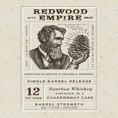 Redwood Empire 12 Year Chardonnay Cask Finish SDBB Private Selection Bourbon Redwood Empire Whiskey