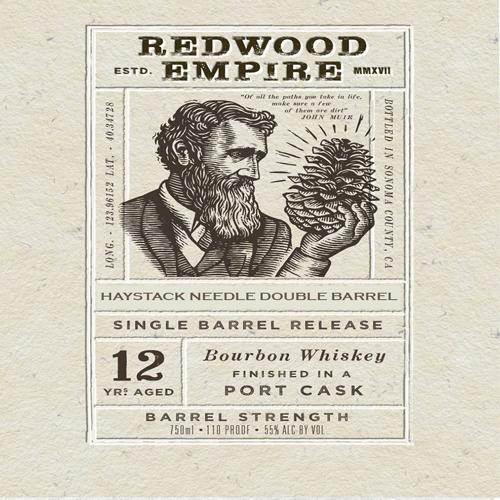 Redwood Empire 12 Year Port Cask Finish SDBB Private Selection Bourbon Redwood Empire Whiskey