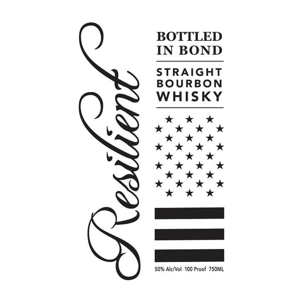 Resilient Bottled In Bond Straight Bourbon Whiskey Resilient Bourbon
