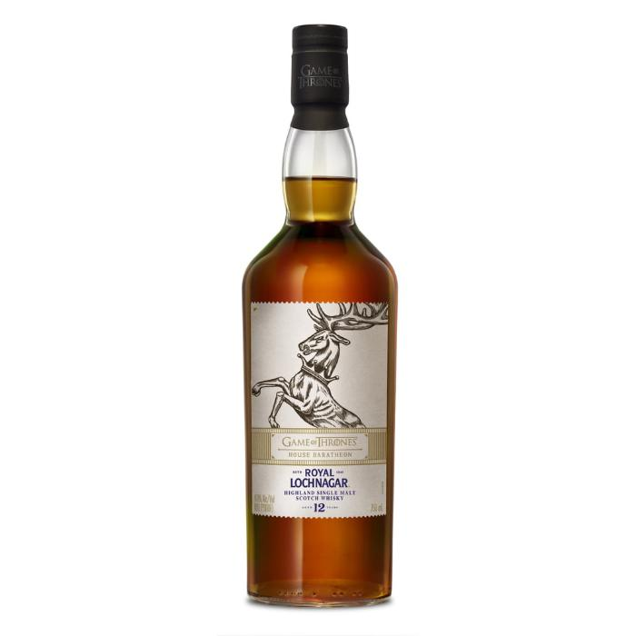Royal Lochnagar 12 Year Old - Game Of Thrones House Baratheon Scotch Royal Lochnagar