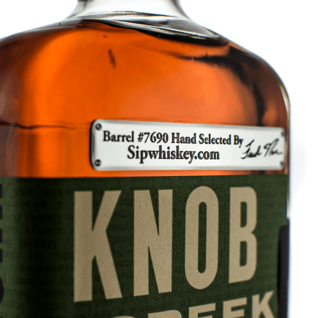 Knob Creek Single Barrel Select | Barrell #7690 | Hand Selected For SipWhiskey.Com Rye Whiskey Knob Creek