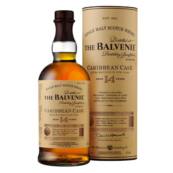 The Balvenie Caribbean Cask 14 Scotch The Balvenie
